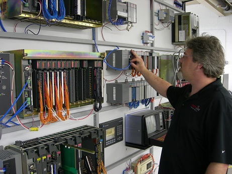 Electronic Test Systems in North Carolina | Northline NC - PLC_Wall
